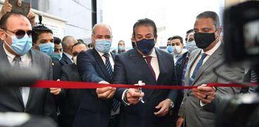 افتتاح المبنى الجديد لمعهد البحوث بجامعة الفيوم