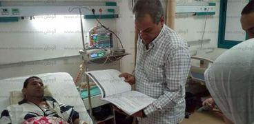 تامر مرعى وكيل وزارة الصحة بالبحر الأحمر صورة أرشيفية