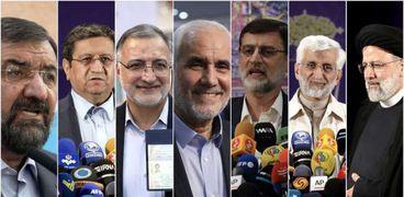 مرشحو الانتخابات الرئاسية الإيرانية