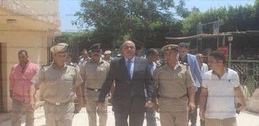 مدير اأمن كفر الشيخ يتفقد مدينة دسوق