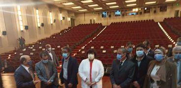 افتتاح قصر ثقافة الإسماعيلية