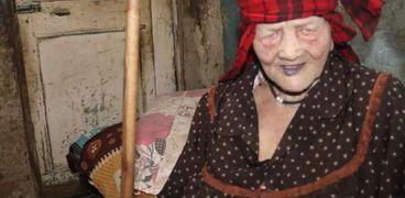«زينب» كفيفة تبلغ من العمر 75 عاما