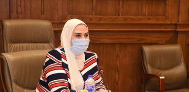 نيفين القباج ، وزيرة التضامن الاجتماعى