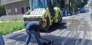 بسبب الحوادث:محافظ أسيوط يأمر بإنشاء مطب صناعي بين قريتين بمركز أبنوب