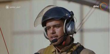 ضابط بالجيش المصري