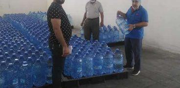 ضبط مصنع مياه مغشوشة
