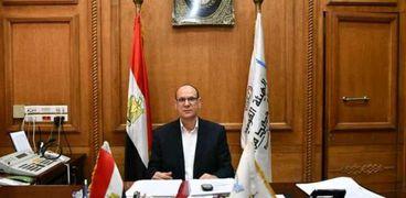 المهندس مصطفي أبو المكارم رئيس هيئة السكة الحديد