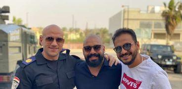 بيترميمي مع هاني سرحان وأحمد مكي