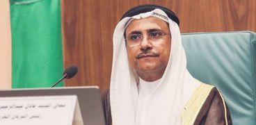 رئيس البرلمان العربي، عادل بن عبدالرحمن العسوم،