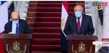 سامح شكري وزير الخارجية