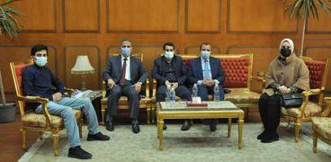 المستشار الثقافي الكويتي بالقاهرة: جامعة كفر الشيخ في طريقها الى العالمية