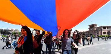 تظاهرات أرمينيا