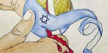 لوحات فنية فى اليوم العالمى للتضامن مع الشعب الفلسطينى: عبّر بـ«الريشة»