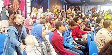 جمهور معرض الكتاب في ندوة تريزيجيه