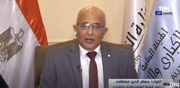 اللواء حسام الدين مصطفى.. رئيس الهيئة العامة للطرق والكباري