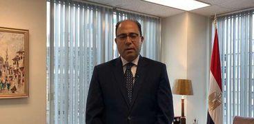 السفير أحمد أبو زيد - سفير مصر في كندا