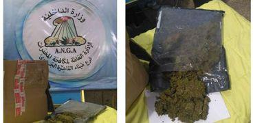 ضبط 500 جرام من مخدر الماريجوانا داخل طرود البريدية بمطار القاهرة