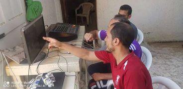 تطبيق تقنية الفار في دورة كرة قدم بكفر الشيخ