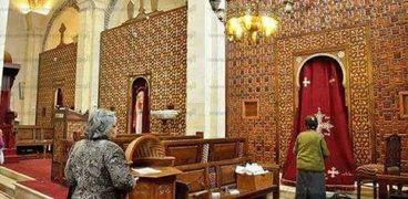 كنيسة العذراء مريم مزار سياحى لأقباط مصر