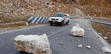 أثار زلزال في إيران - صورة أرشيفية