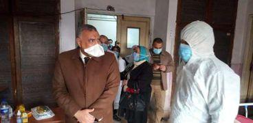 وكيل الصحة بالغربية : تعافي وخروج 56 حالة مصاب بكورونا من مستشفيات العزل