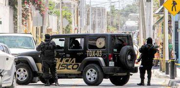 عناصر من الشرطة المكسيكية