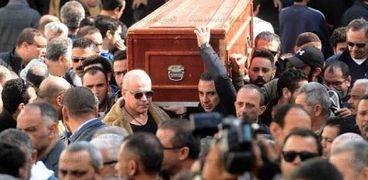 جانب من جنازة سعيد عبدالغنى