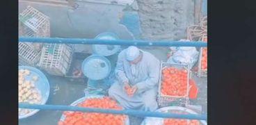 بائع الطماطم