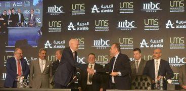 انطلاق مؤتمر لتوقيع مذكرة تفاهم بين المتحدة وmbc