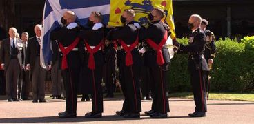 جنازة الأمير فيليب زوج ملكة بريطانيا