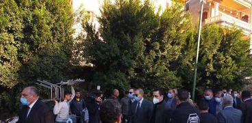 وفاة المحاسب أحمد جعفر أمين تنظيم حزب مستقبل وطن بكفر الشيخ