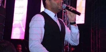 بالصور| رامي صبري يشعل حفل الصالة المغطاة بأجمل الأغاني