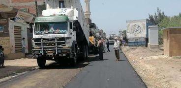 تحسين شبكة الطرق الرئيسية والفرعية وتطبيق أعلى معايير الجودة في كفر الشيخ