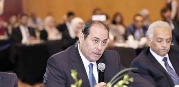 طارق الخولى رئيس مجلس إدارة بنك saib