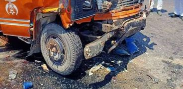 حادث على طريق برج العرب