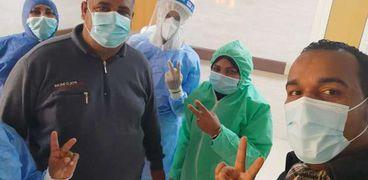 الفريق الطبي في مستشفى الاقصر