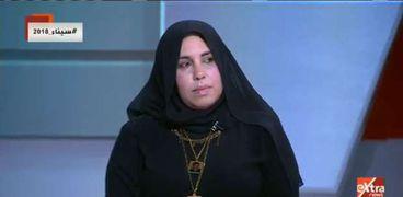زوجة الشهيد العميد عمرو عبد المقصود