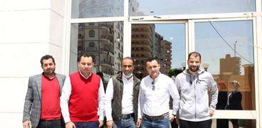 سيد عبد الحفيظ وعبدالله رجب يدعمان مركز الأورام