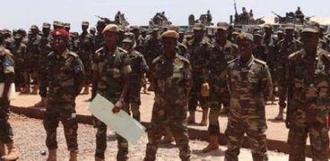 عناصر من الجيش الصومالي