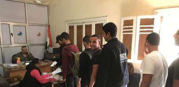 طلاب جامعة بنها يتقدمون للترشح في إنتخابات الغتحادات الطلابية