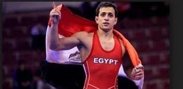 """المصري """"كيشو"""" يحصد ذهبية بطولة العالم للمصارعة"""