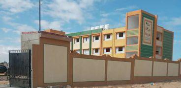 مدرسة بقرية سيدى شبيب بعد الانتهاء من انشائها بمبادرة حياة كريمة