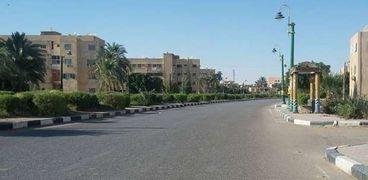 شوارع الخارجة بمحافظة الوادي الجديد