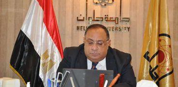 الدكتور ماجد  نجم .. رئيس جامعة حلوان
