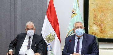 وزيرا الزراعة والبيئة ومحافظ جنوب سيناء يبحثون آليات تنمية الثروة السمكية