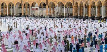 صلاة عيد الفطر في الحرم المكي