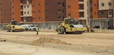 أعمال البناء والتشطيب