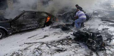 تفجيرات انتحارية في لبنان