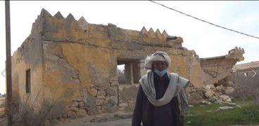 الحاج عمار من أمام مسجد الشهيد عبدالمنعم رياض