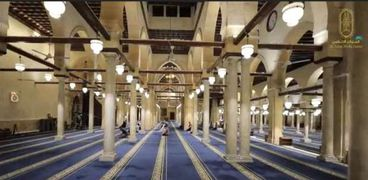 صلاة التراويح من المسجد الأزهر